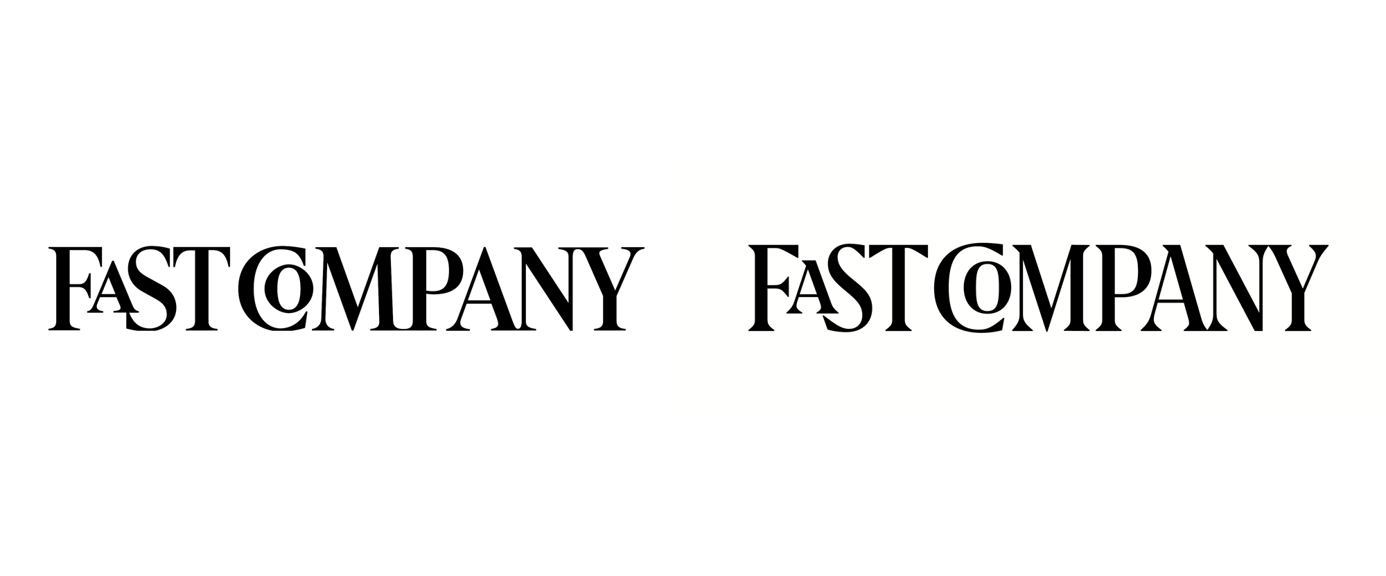 New Logo for Fast Company by Rui Abreu and In-house