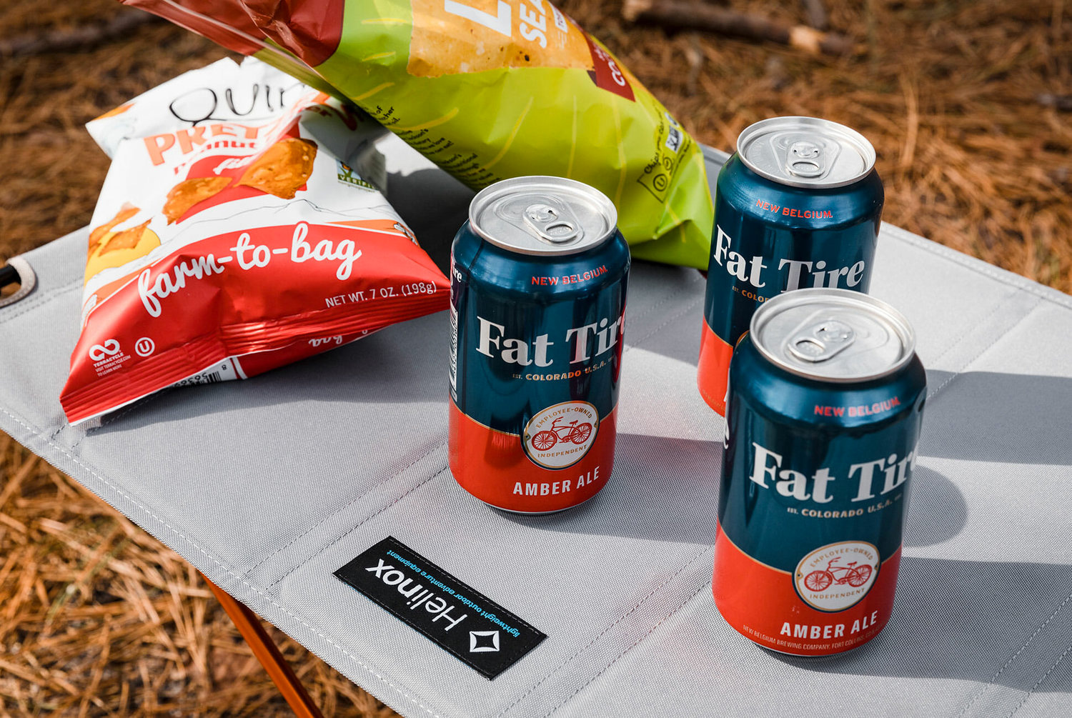 New Logo and Packaging for Fat Tire by Durham Brand & Co.