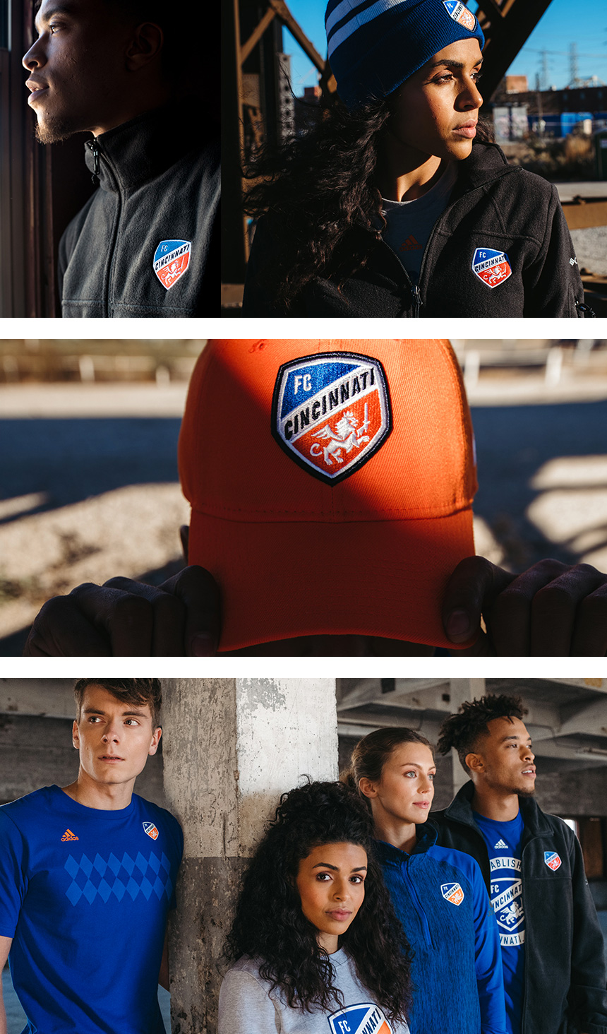 New Crest for FC Cincinnati by Interbrand