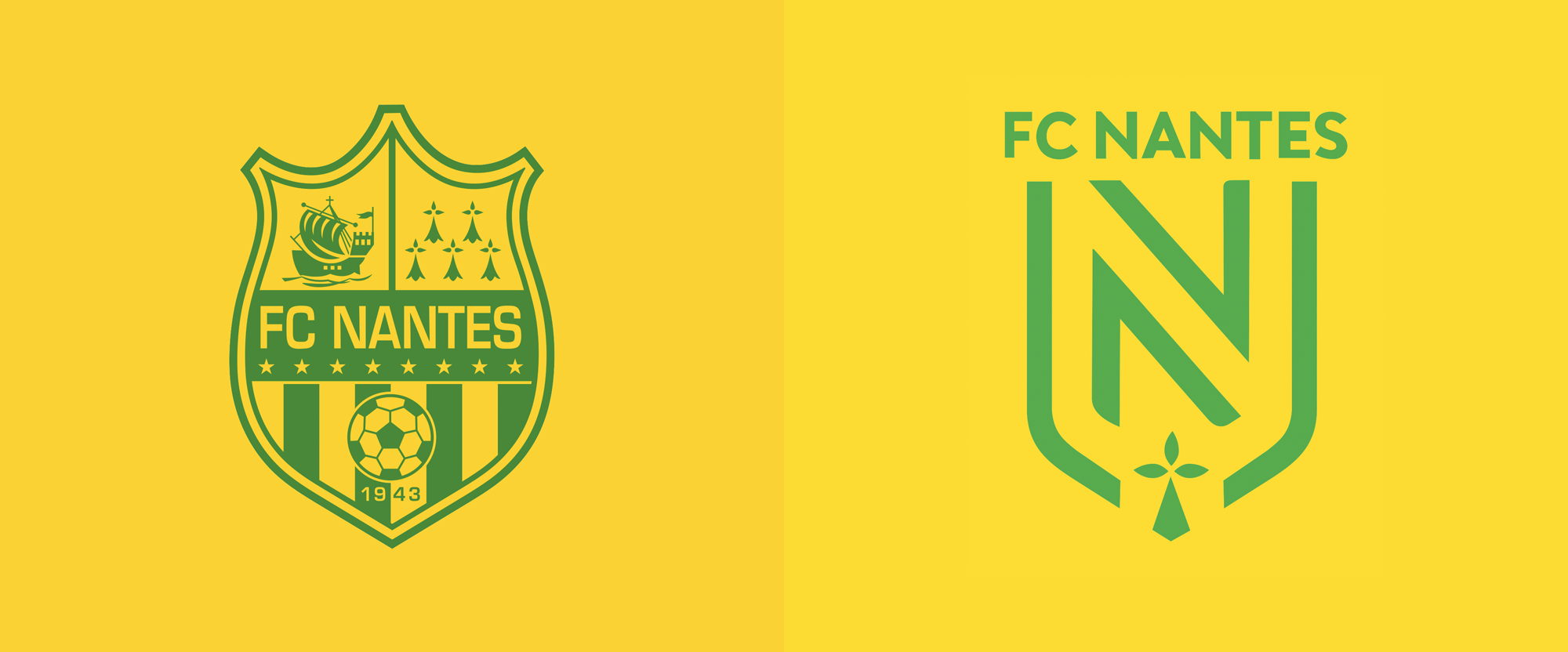 New Logo for FC Nantes