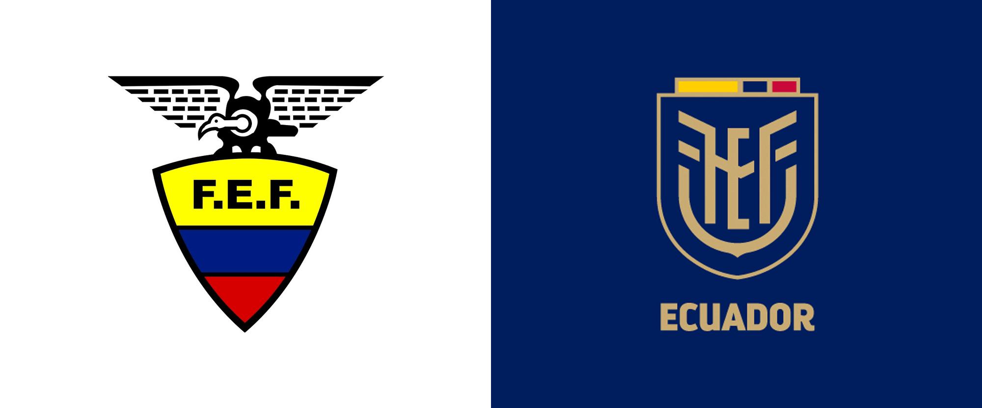 New Logo for Federación Ecuatoriana de Fútbol