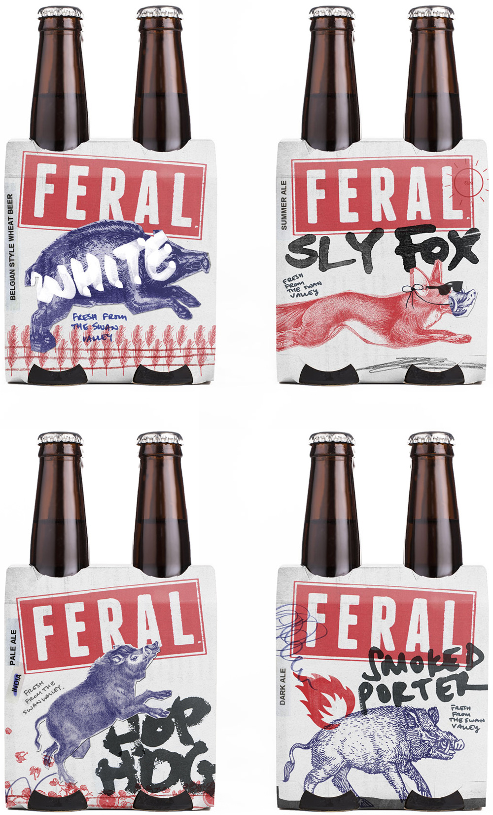 Brand New New Logo And Packaging For Feral Brewing