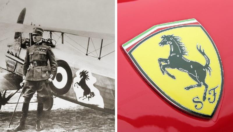 Ferrari Logo Origin