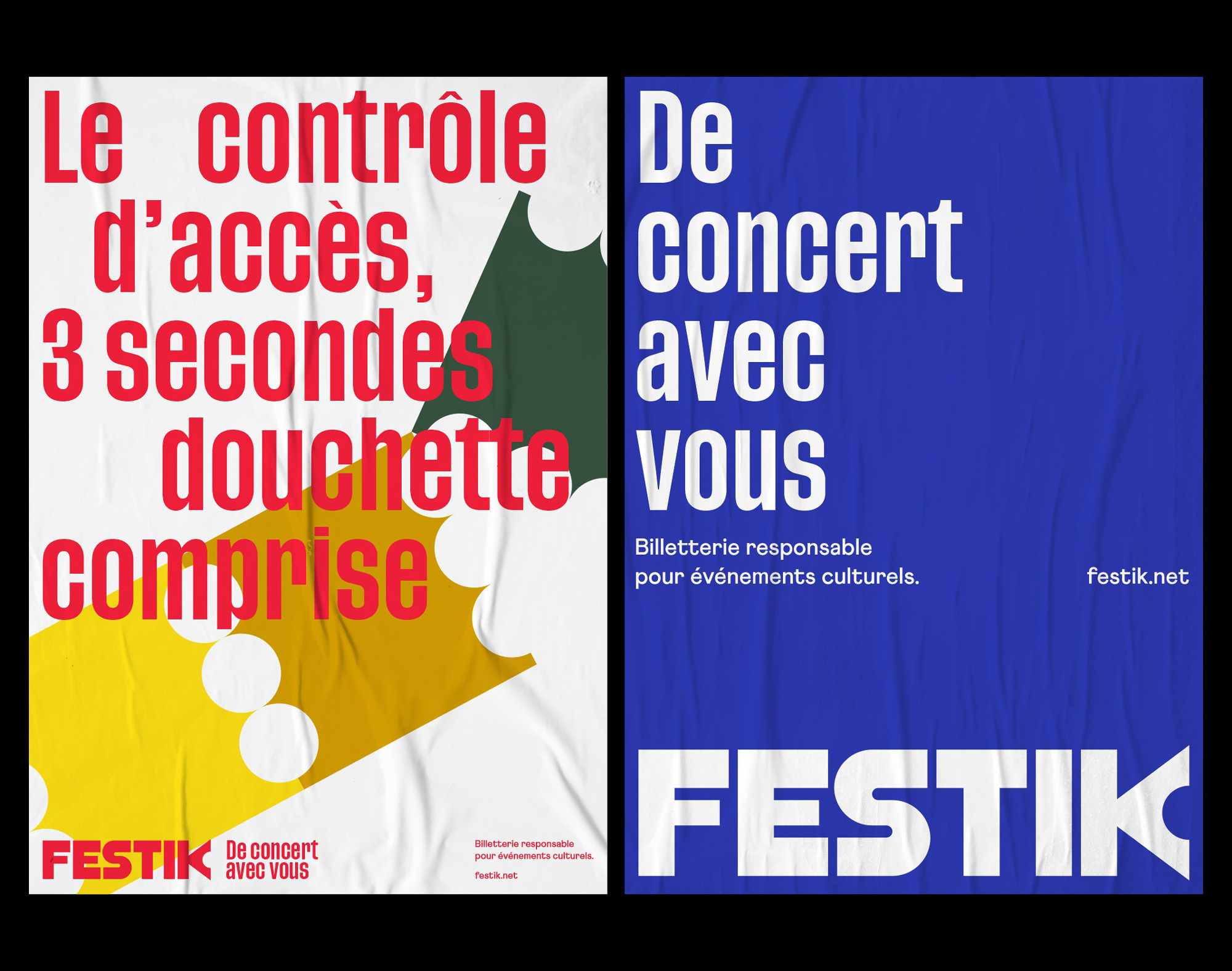 New Logo and Identity for Festik by Brand Brothers