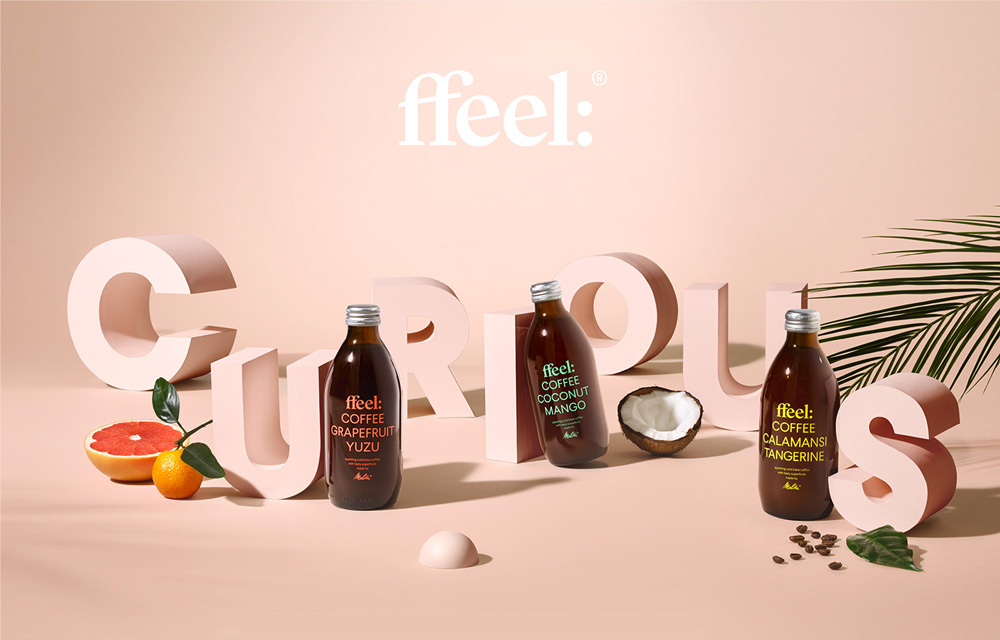 New Logo and Packaging for ffeel by Make Studio