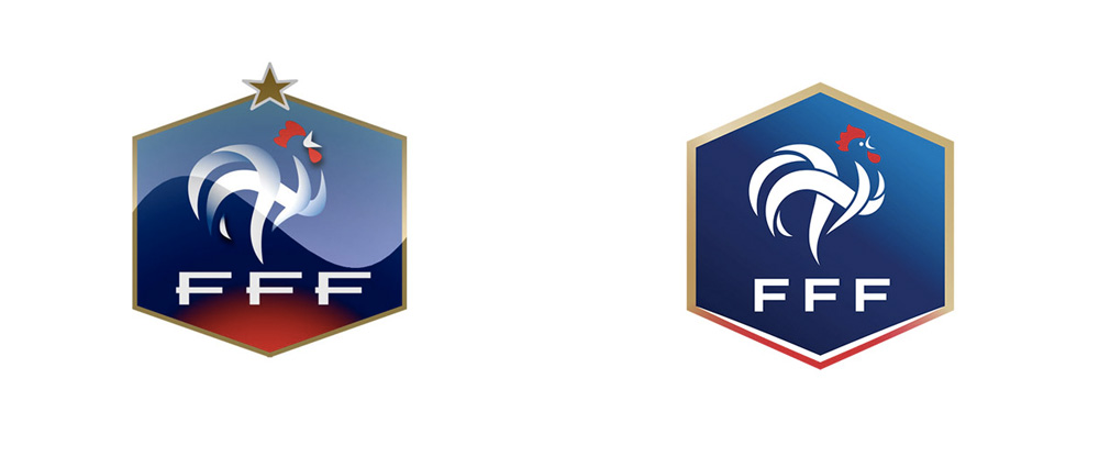 New Logo for French Football Federation