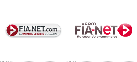 FIA-NET Logo, Before and After