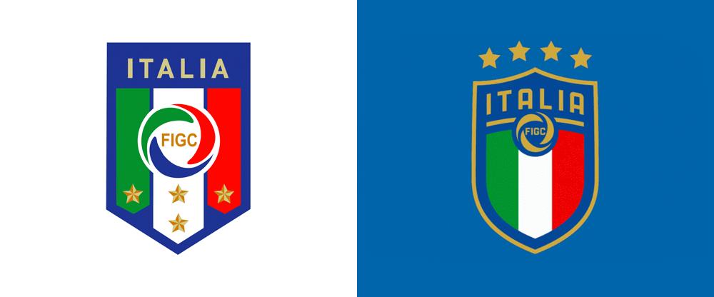 New Logo for Federazione Italiana Giuoco Calcio