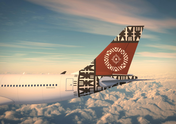 Fiji Airways Livery
