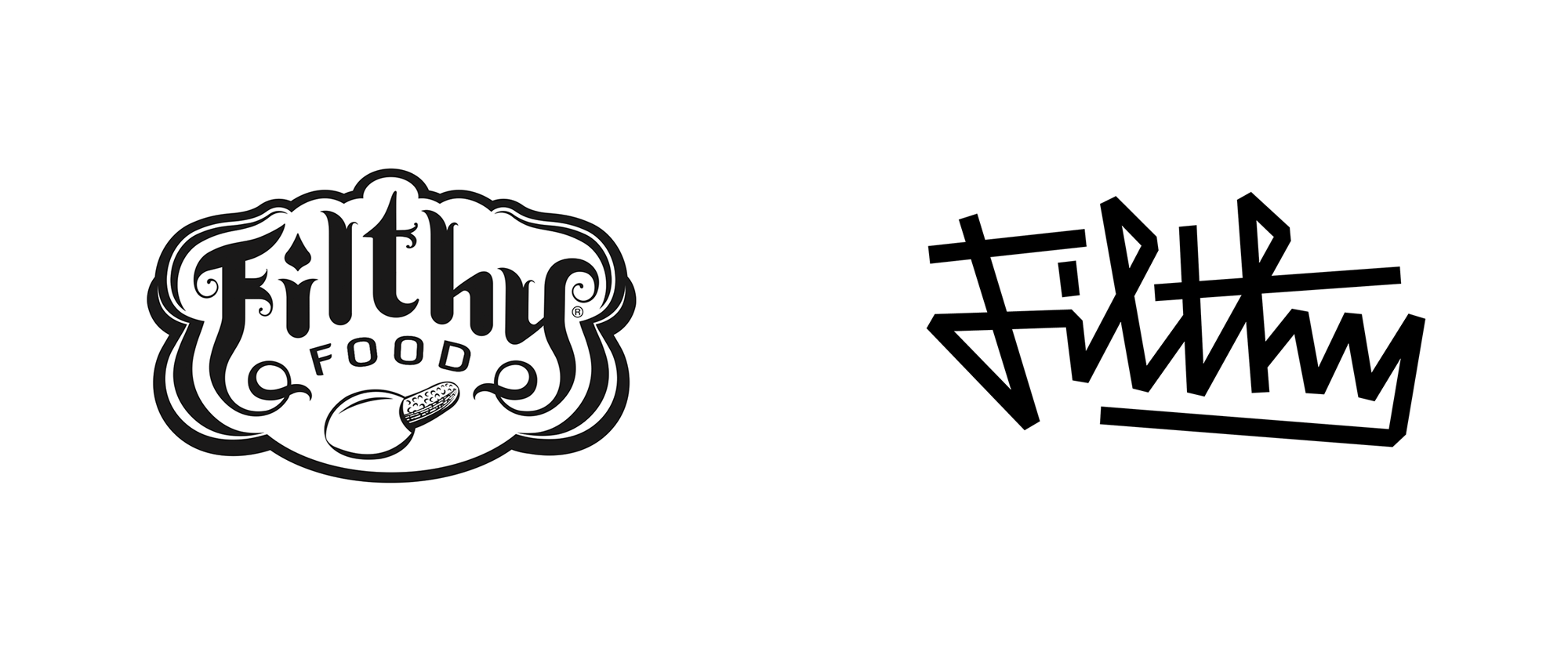 New Logo, Identity, and Packaging for Filthy Food by Mother Design