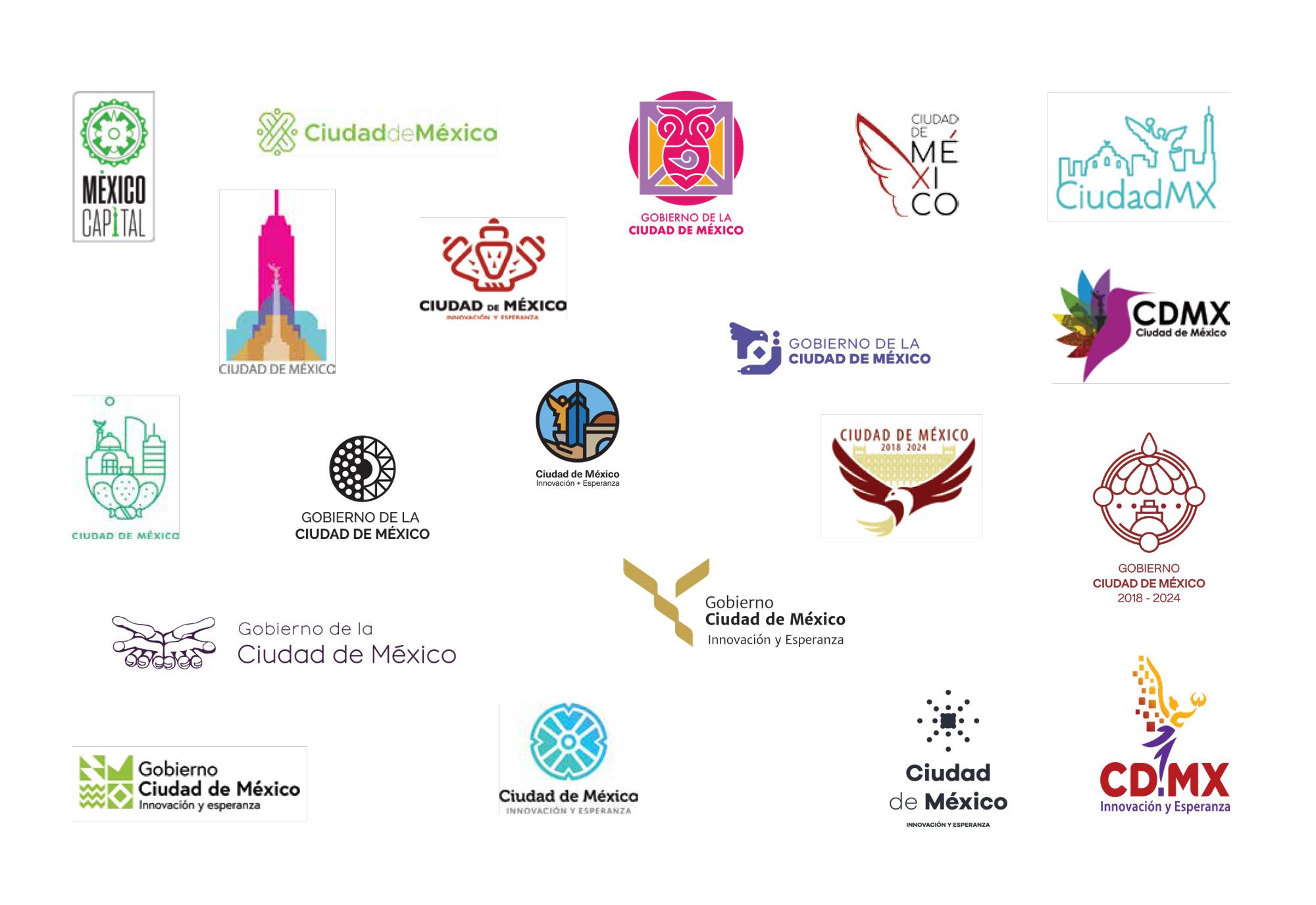 CDMX Logo Finalists