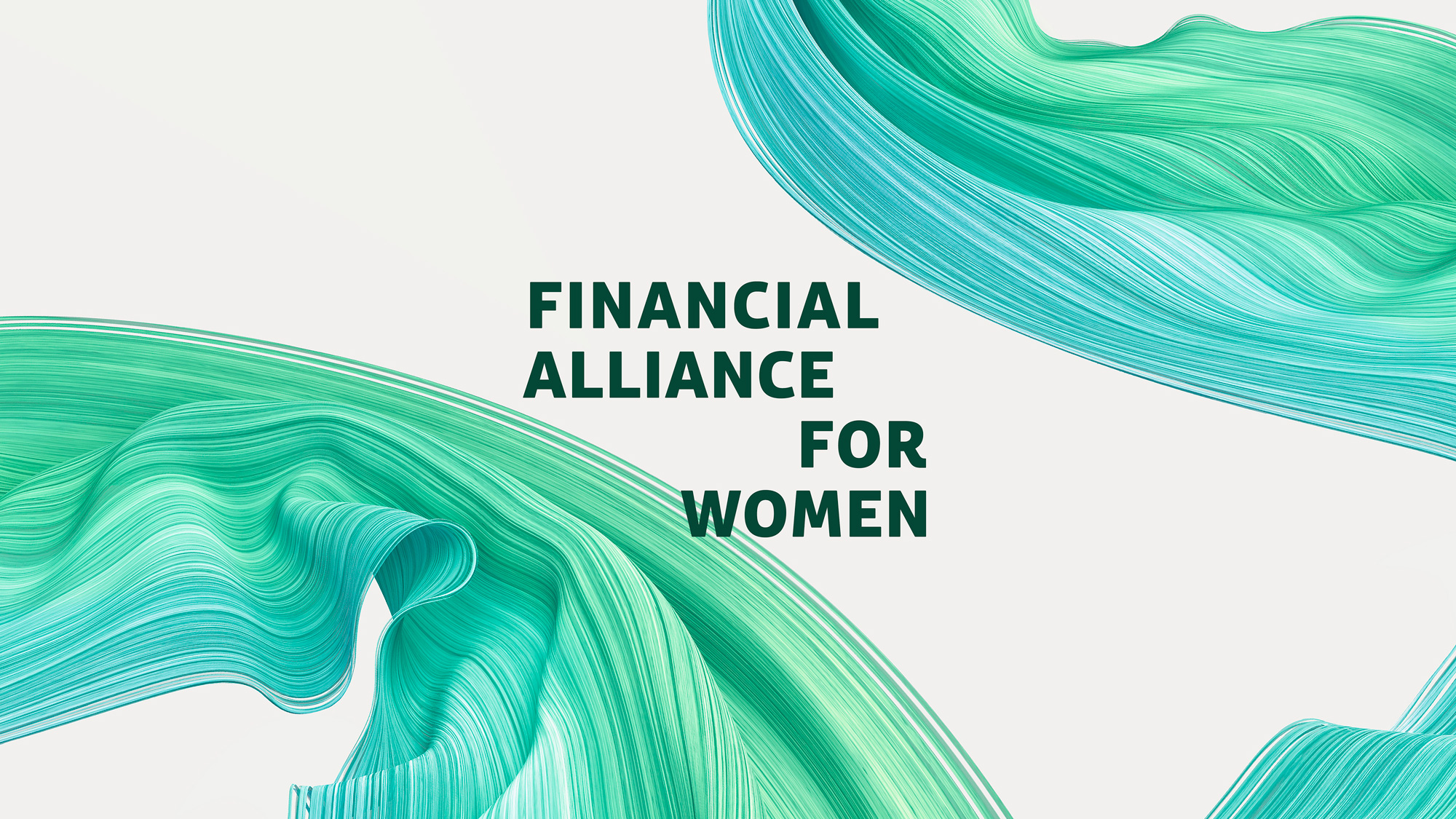 New Logo and Identity for Financial Alliance for Women by Design Bridge