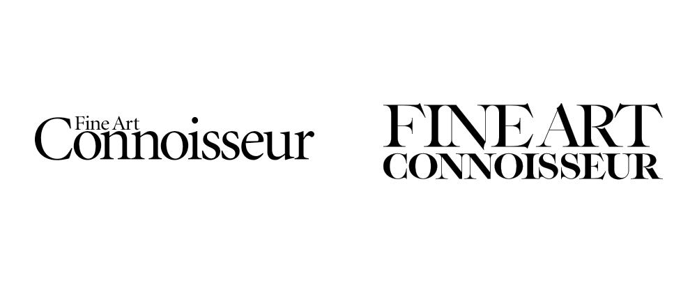 New Logo for Fine Art Connoisseur