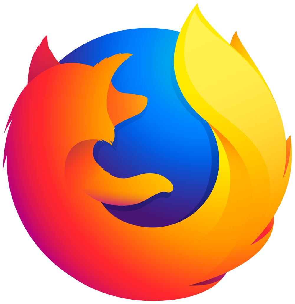 brand new new logo for firefox