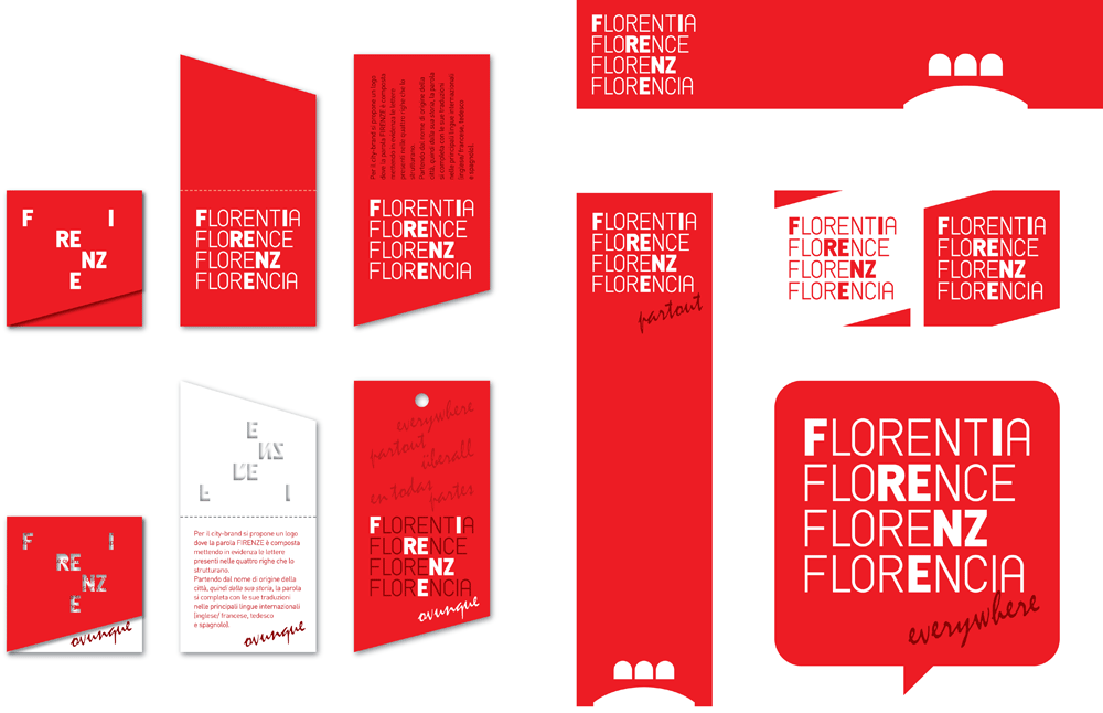 New Logo for the City of Florence by Fabio Chiantini