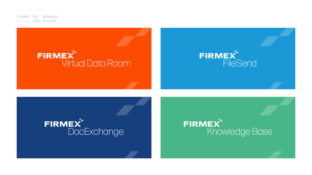 New Logo and Identity for Firmex done In-house