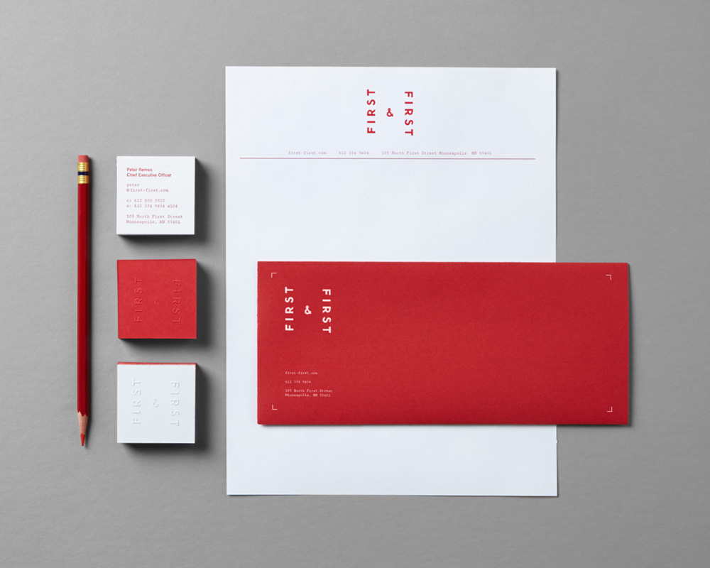 New Logo and Identity for First & First by Fellow