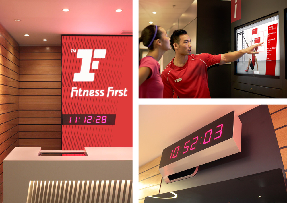 New Logo and Identity for Fitness First by The Clearing