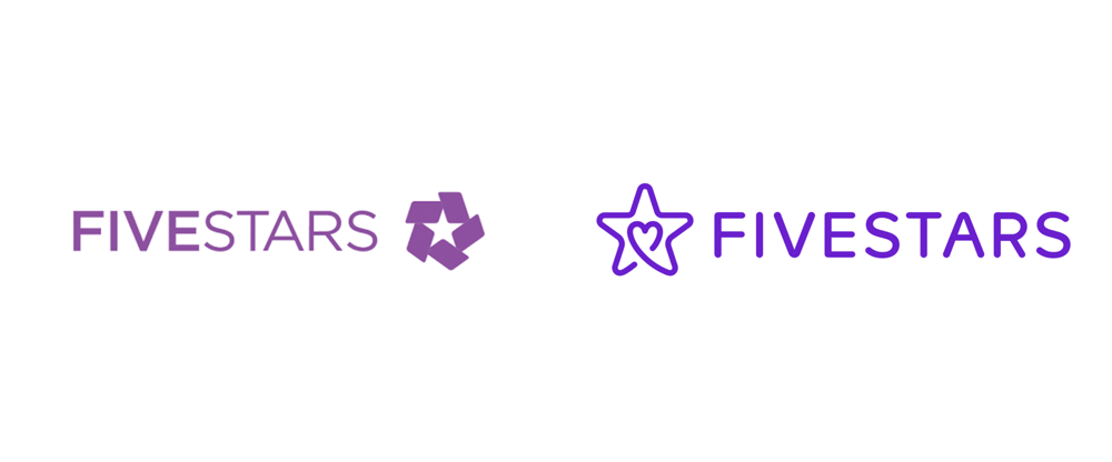 New Logo for Fivestars done In-house