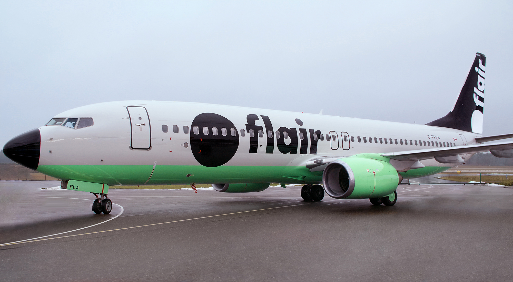 New Logo and Livery for Flair Airlines