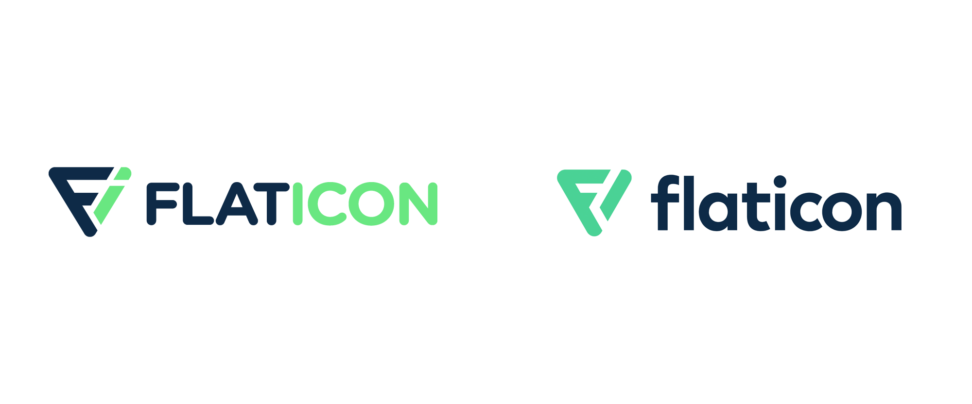 New Logo for Flaticon done In-house