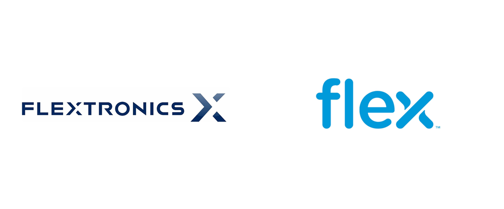Brand New: New Name and Logo for Flex