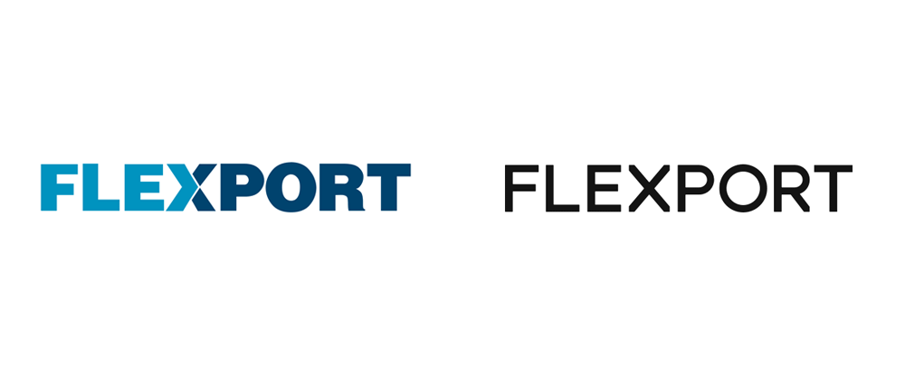 New Logo for Flexport done In-house