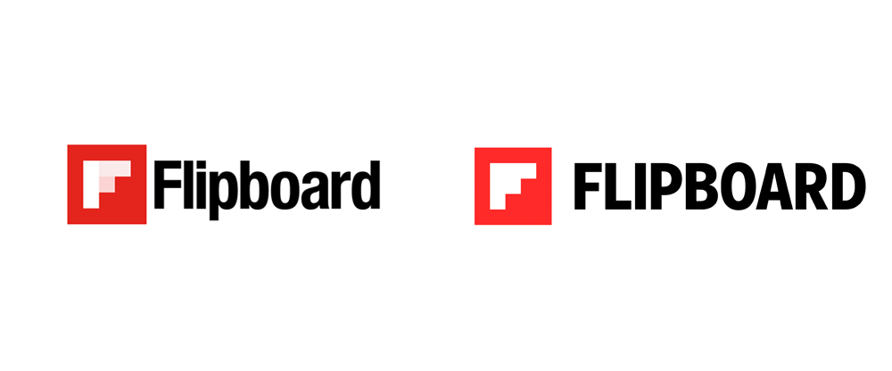 New Logo and Identity for Flipboard by Moniker and In-house