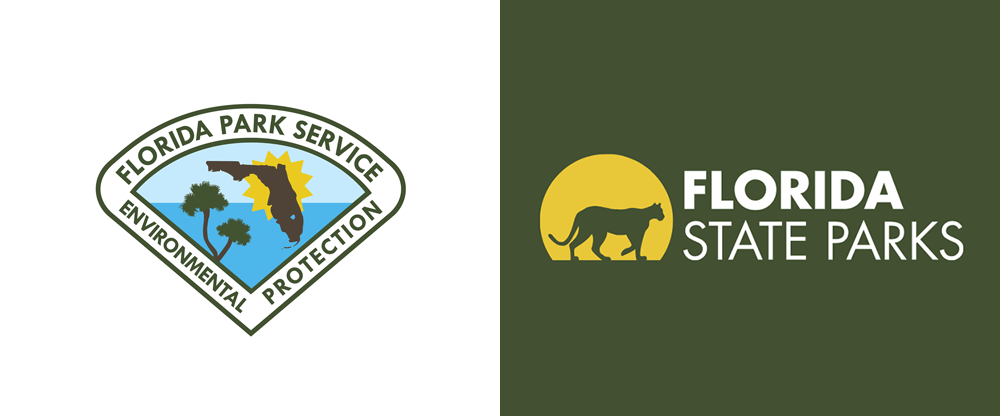 New Logo for Florida State Parks by BowStern