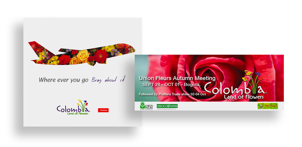 New Logo and Identity for Flowers of Colombia by SmartBrands