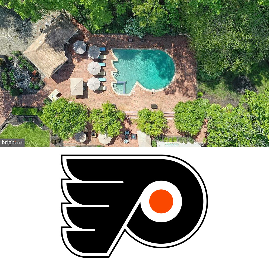 Flyers-shaped Pool