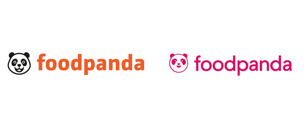 New Logo for Foodpanda