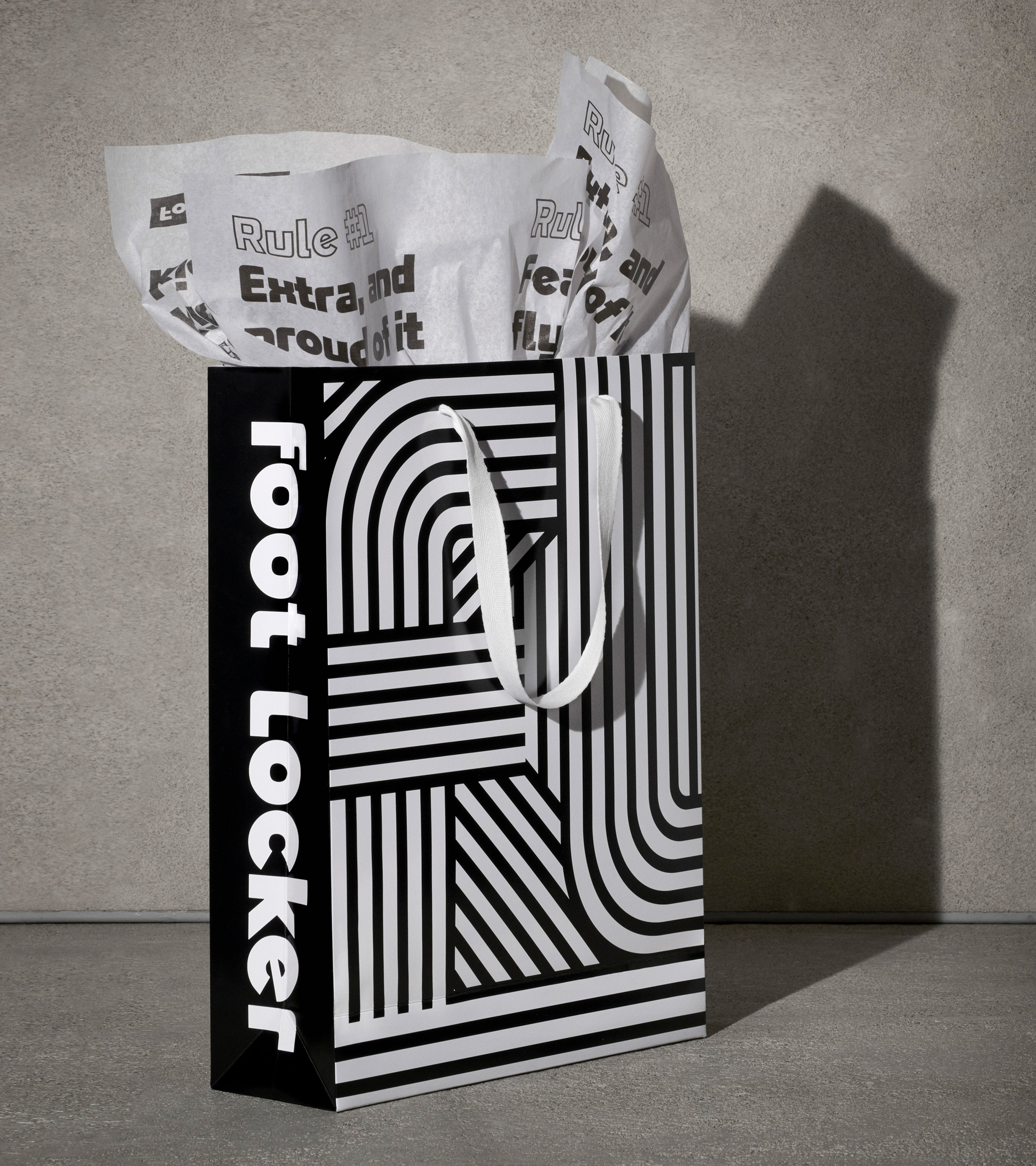 New Logo and Identity for Foot Locker by Jones Knowles Ritchie