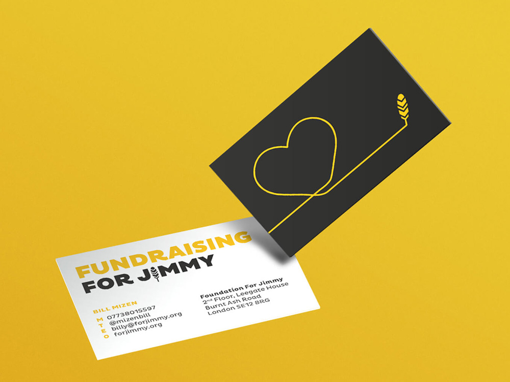 New Name, Logo, and Identity for For Jimmy Foundation by SomeOne
