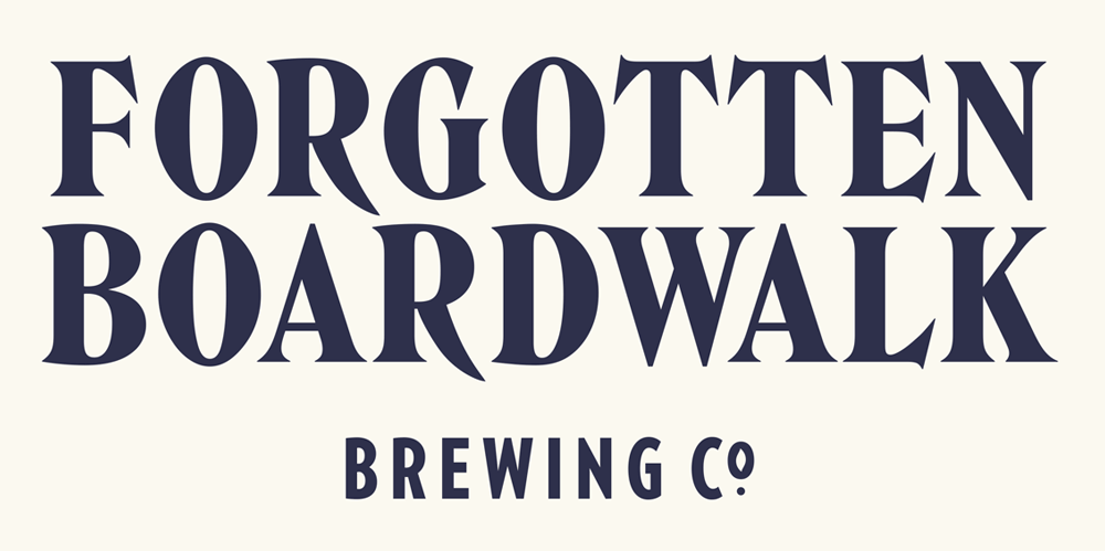 New Logo, Identity, and Packaging for Forgotten Boardwalk Brewing by Perky Bros