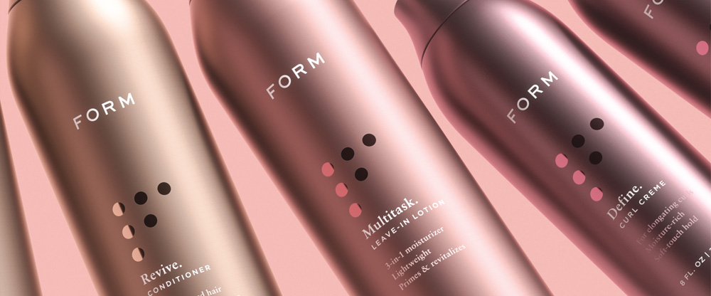 New Logo and Packaging for FORM by JKR Global