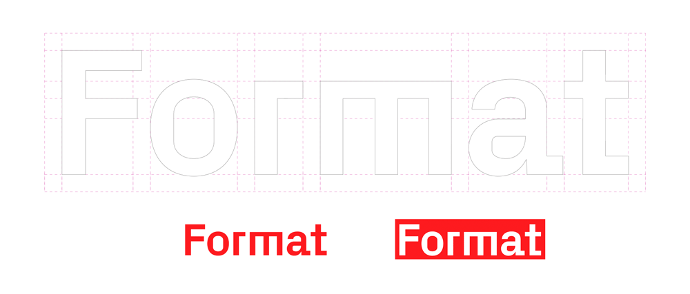 New Logo and Identity for Format done In-house
