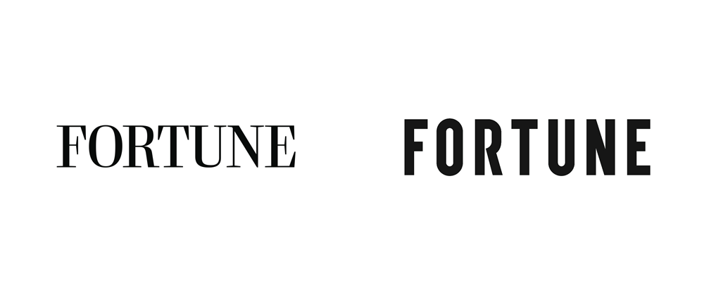 New Logo and Cover for <em>Fortune</em> done In-house