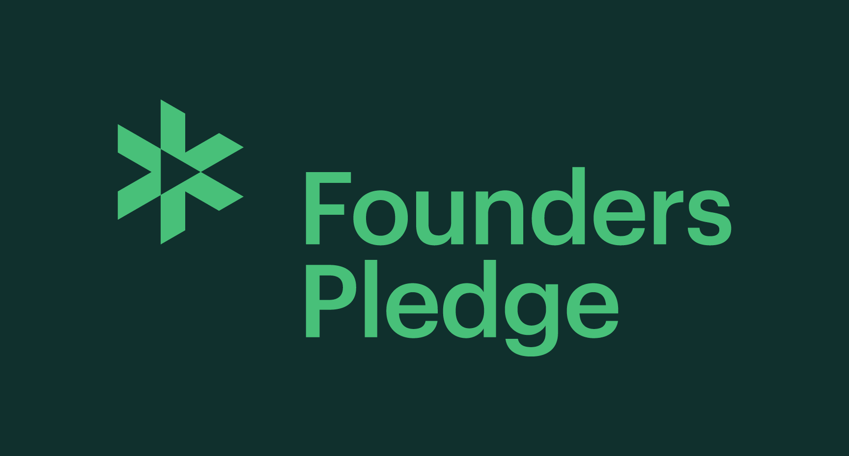 New Logo and Identity for Founders Pledge by Mast