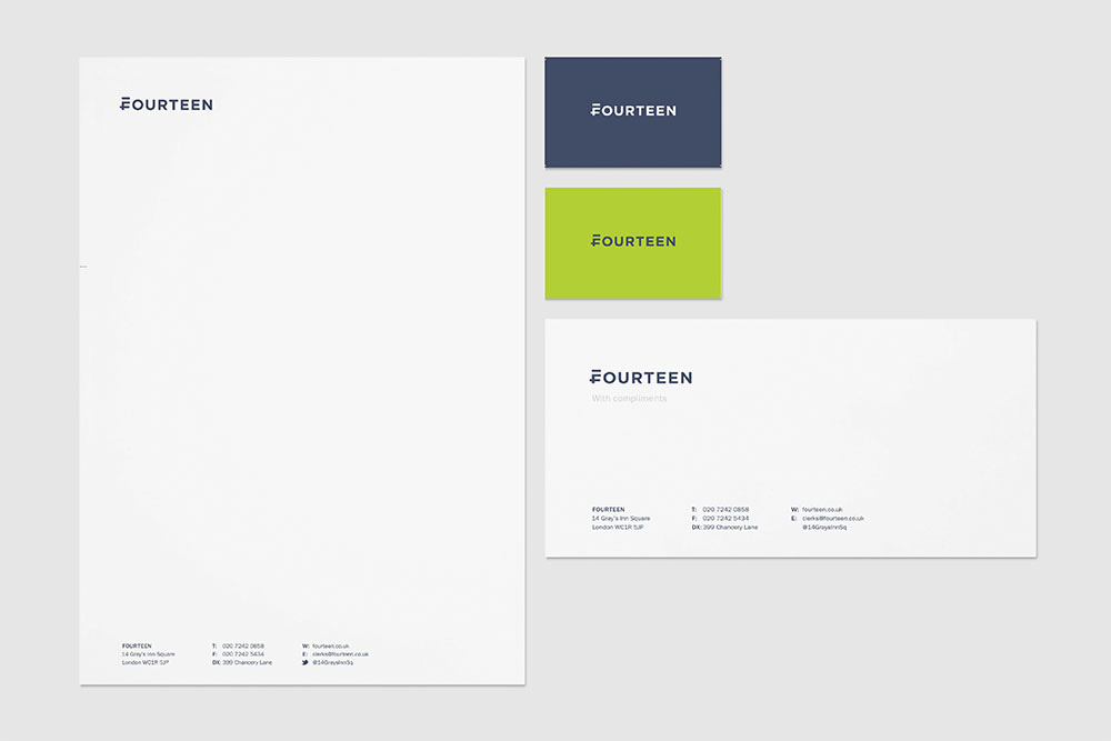 New Name, Logo, and Identity for Fourteen by Mash
