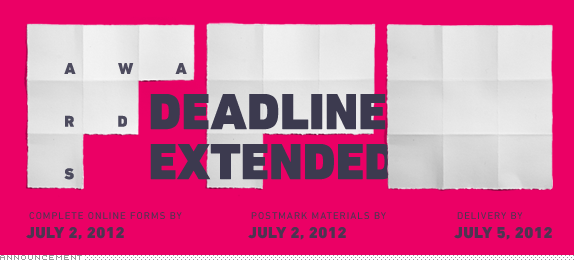 FPO Awards, Deadline Extended