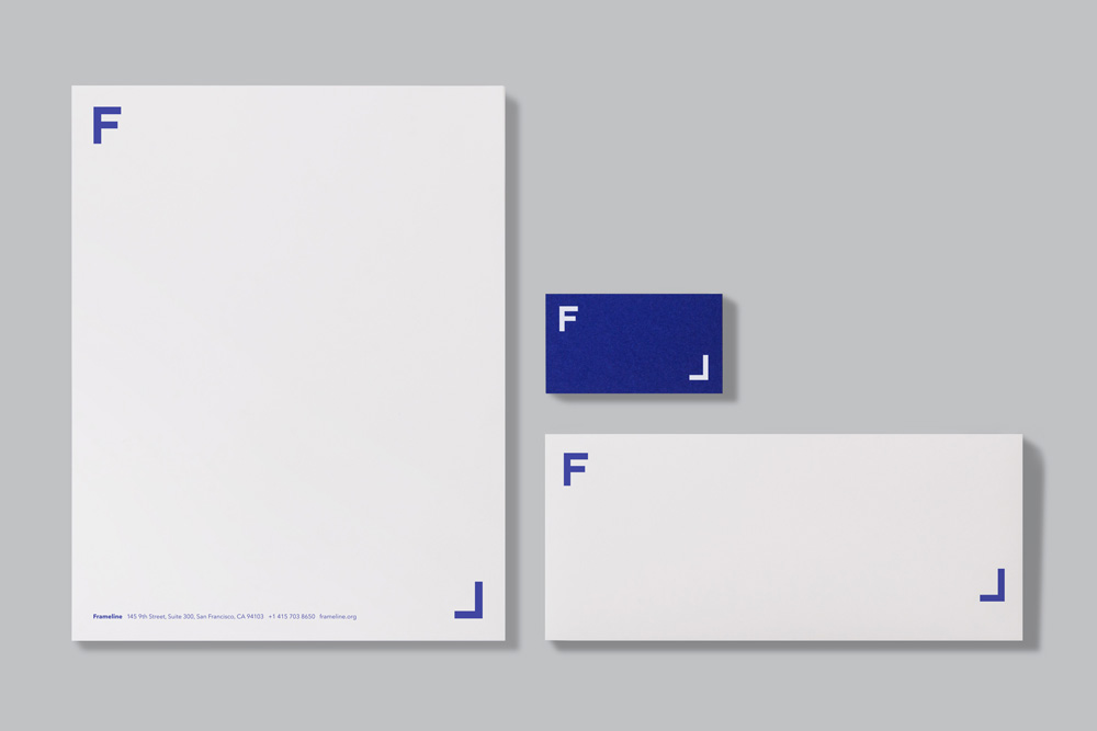 New Logo and Identity for Frameline by Mucho