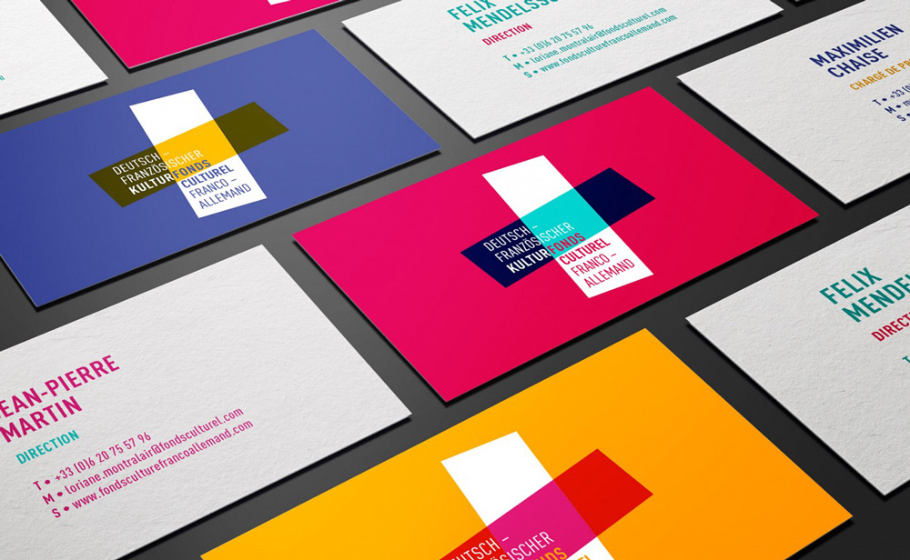 New Logo and Identity for Franco-German Cultural Fund by Graphéine