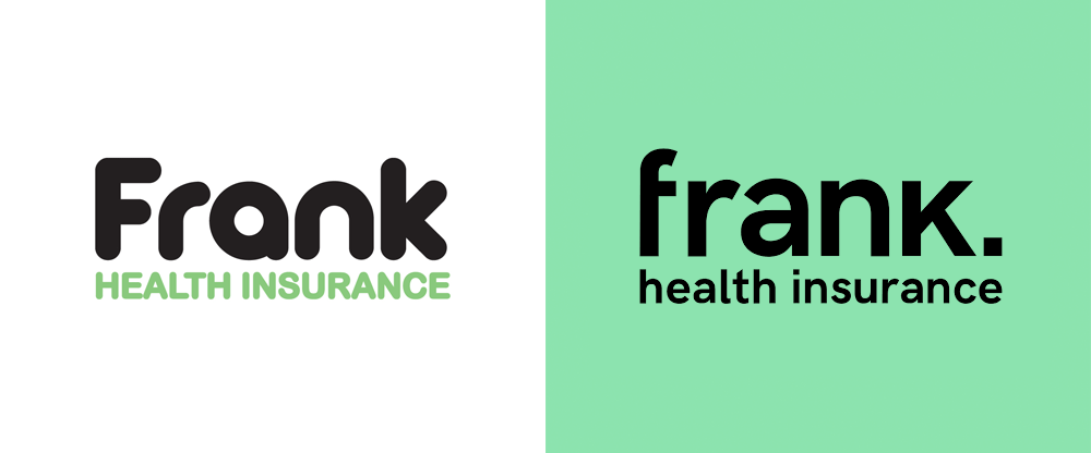New Logo for Frank Health Insurance