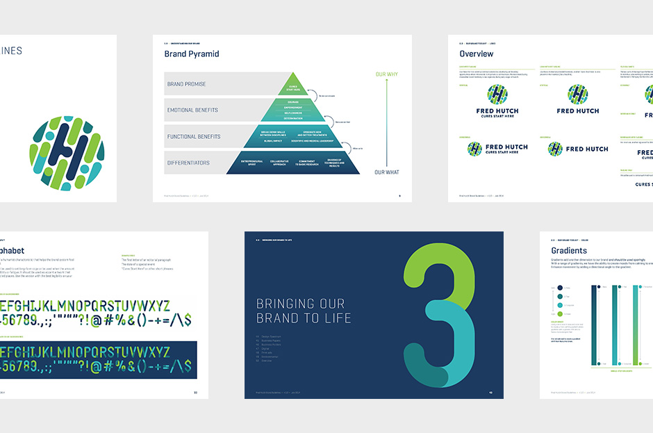 New Name, Logo, and Identity for Fred Hutch by Hornall Anderson