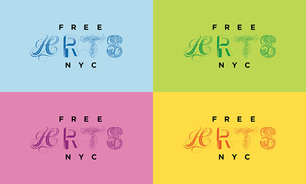 New Logo and Identity for Free Arts NYC by Red Peak Branding