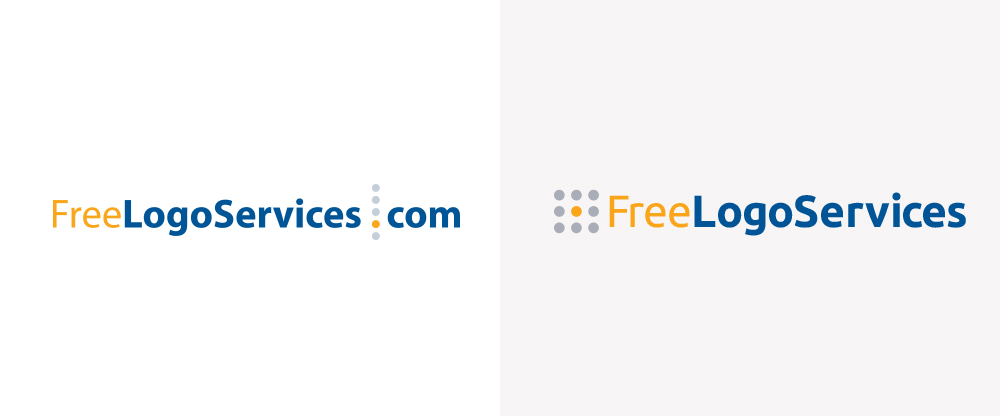 New Logo for FreeLogoServices done In-house