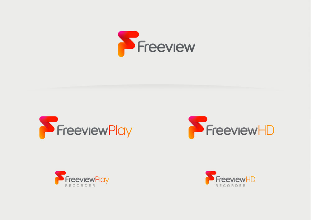 New Logo for Freeview by DixonBaxi