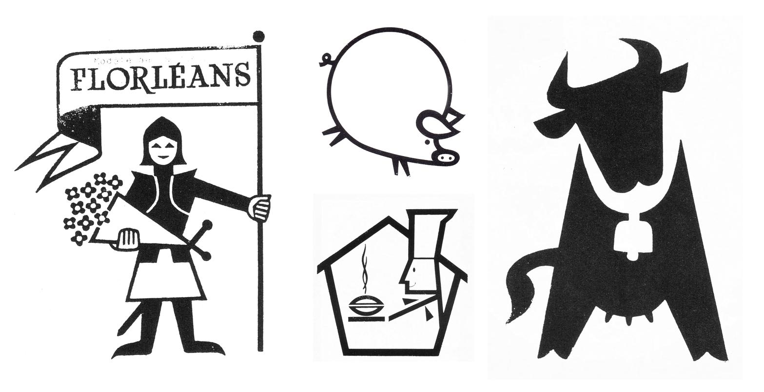 Vintage French Logos