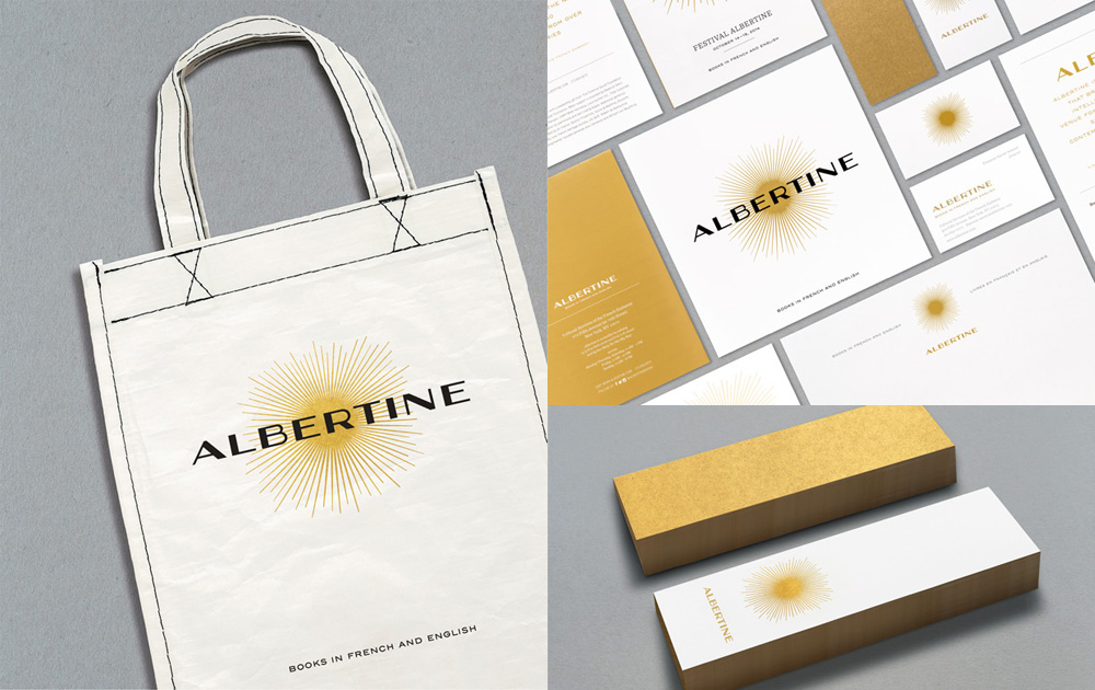 Albertine by Pentagram